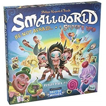 Small World - Race Collection Be Not Afraid & A Spider Web